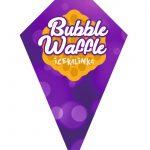 rożek do bubble waffle fioletowy tył