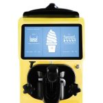 Maszyna do lodów barowa premium żółta 5