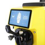 Maszyna do lodów barowa premium żółta 8