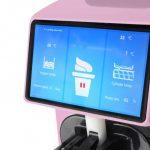 Maszyna do lodów barowa premium różowa 4