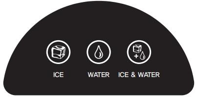 Dyspenser do lodu i wody
